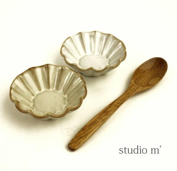 studio m'(スタジオエム)陶器 小鉢 ブリオッシュ...