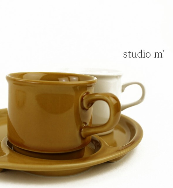 studio m'(スタジオエム)磁器 マグカップ ロティ ...