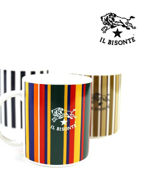 【1F-W】IL BISONTE(イルビゾンテ) ロゴ入り  ス...