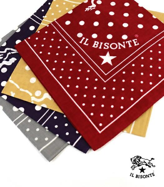 【1F-W】IL BISONTE(イルビゾンテ) コットンロゴ ...