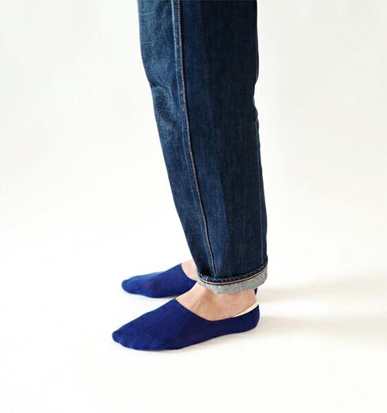フレンチブル 靴下 カバーソックス プレインカバ...