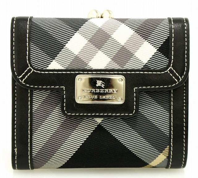 【財布】 バーバリー ブルーレーベル 2つ折財布 ...
