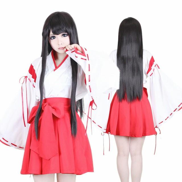 【コスプレ 巫女 和服】コスプレ  コスプレ衣装 ...