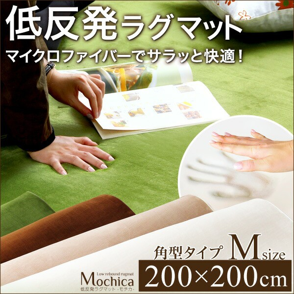 【送料無料】 (200×200cm)低反発マイクロファ...