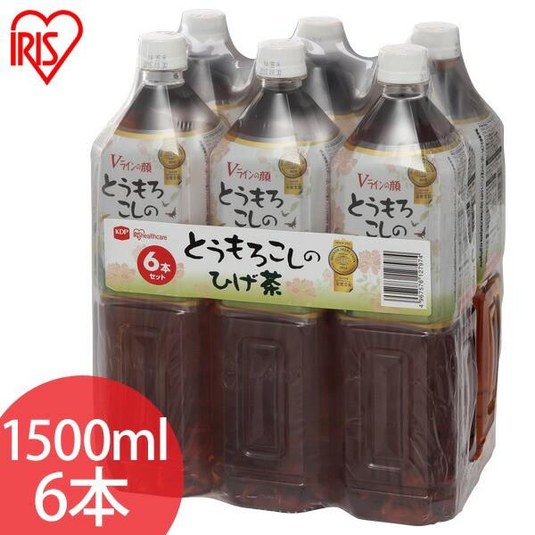 ▼とうもろこしのひげ茶 1500ml×6本(シュリンク...