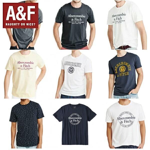 アバクロ Tシャツ 正規 メンズ Abercrombie & Fi...