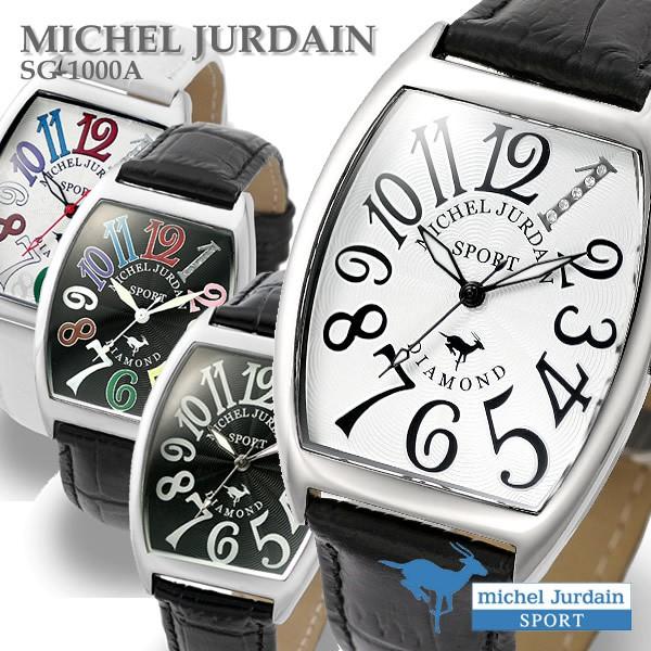 腕時計/メンズ腕時計/メンズ/革ベルト/天然ダイヤ...