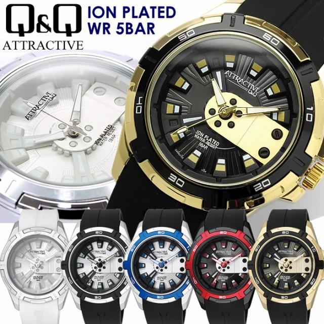 シチズン Q&Q 海外限定モデル メンズ 腕時計 ラ...