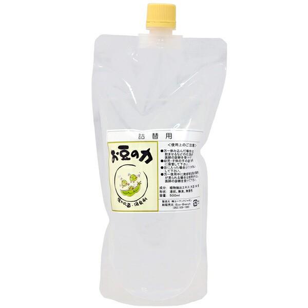 お豆の力(大豆の力)500ml安全成分の強力抗菌...
