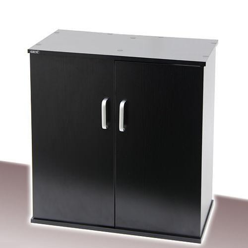 GEX 水槽台 扉付きキャビネット610W‐X クロ木目 60cm水槽用 ジェックス お一人様1点限り