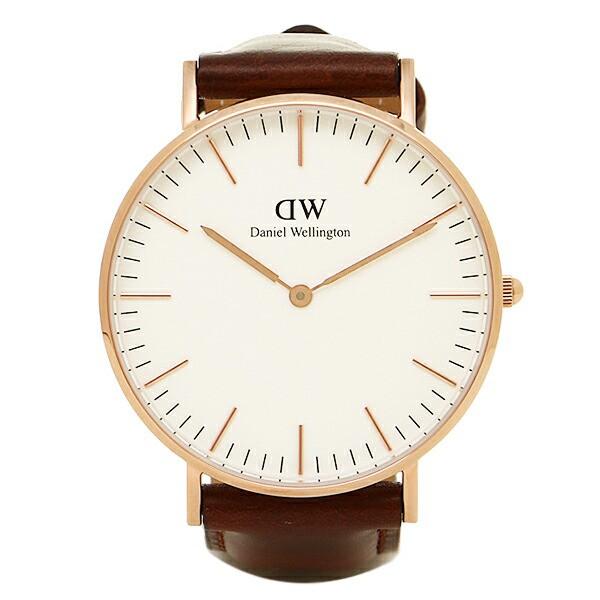 【あす着】ダニエルウェリントンメンズ/レディース Daniel Wellington 0507DW DW00100035 CLASSIC 36mm 腕時計 ウォッチ ローズゴールド