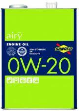 SUNOCO スノコ エンジンオイル airy エアリー 0W-...