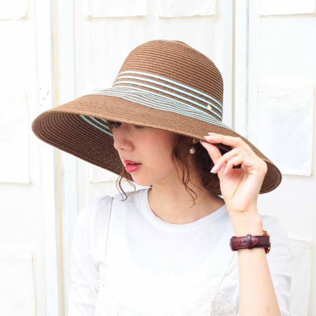 帽子/2個1000円引き/ペーパーブレード超つば広ハ...