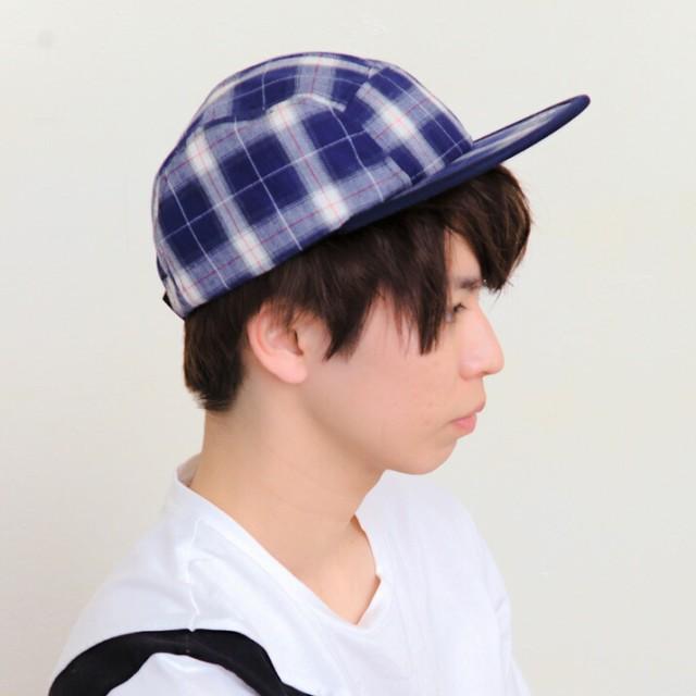 2個1000円引き/帽子/14+限定オンブレチェックジェ...