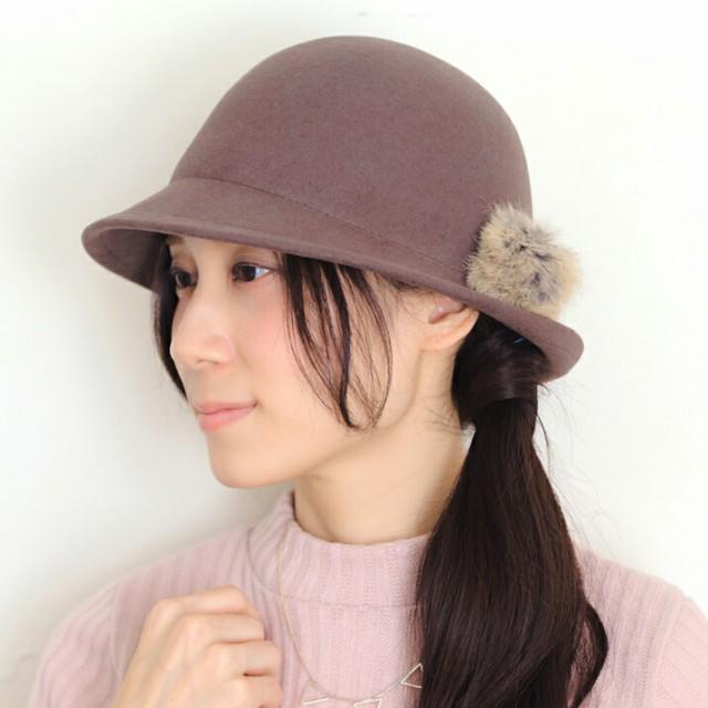 セール/2個1000円引き/帽子/ラビットファーポンポ...