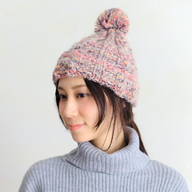 セール/2個1000円引き/帽子/異素材MIXカラー秋冬...
