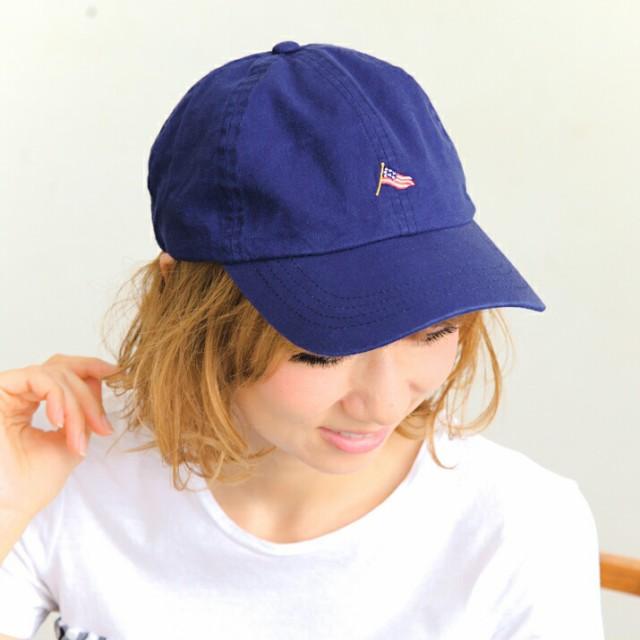 セール/2個1000円引き/帽子/星条旗ミニ刺繍CAP/メ...