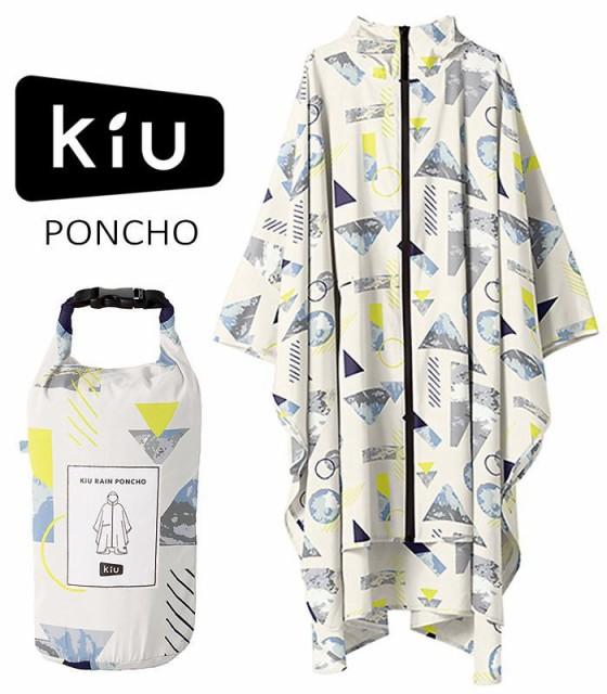 【送料無料】 KiU PONCHO キウ レインポンチョ  (...