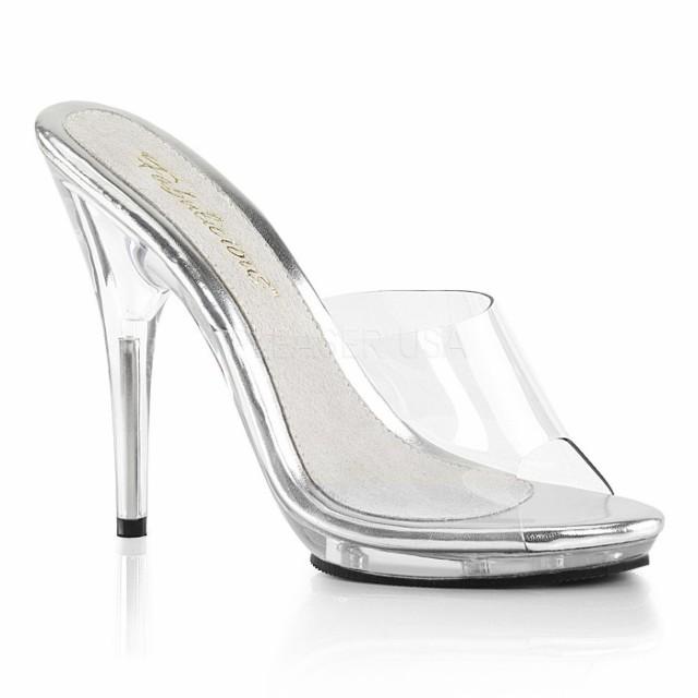即納靴 大きいサイズ有り 薄厚底 ミュール サンダ...