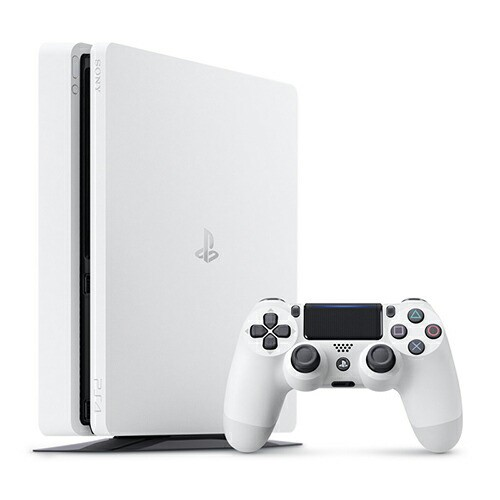 PlayStation4 グレイシャー・ホワイト 500GB 【プ...