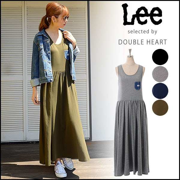 Lee リー レディース 通販 DENIMPOCKET TANKTOP D...