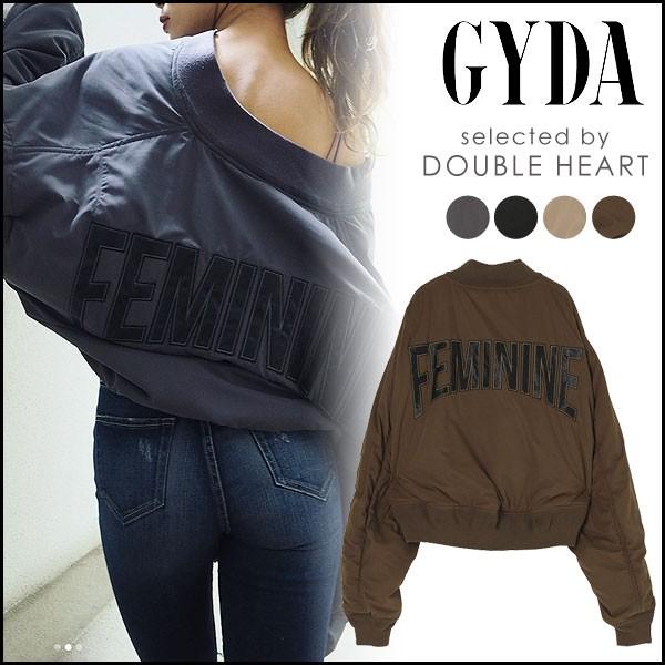 ジェイダ GYDA FEMININEルーズMA-1 レディース ア...