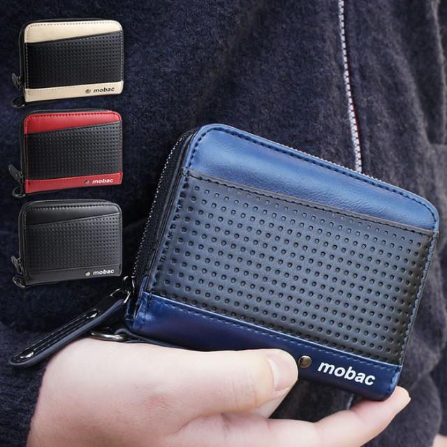 二つ折り財布 財布 二つ折り メンズ ラウンドファ...
