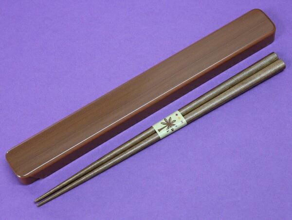箸、箸箱セット ウッドペア (弁当箱用、お弁当...
