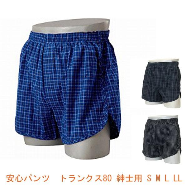 安心パンツトランクス80紳士用(男性用失禁パンツ...