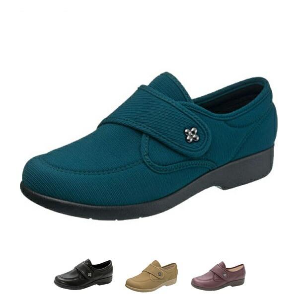 快歩主義 L118 婦人用 アサヒシューズ  (介護靴 ...