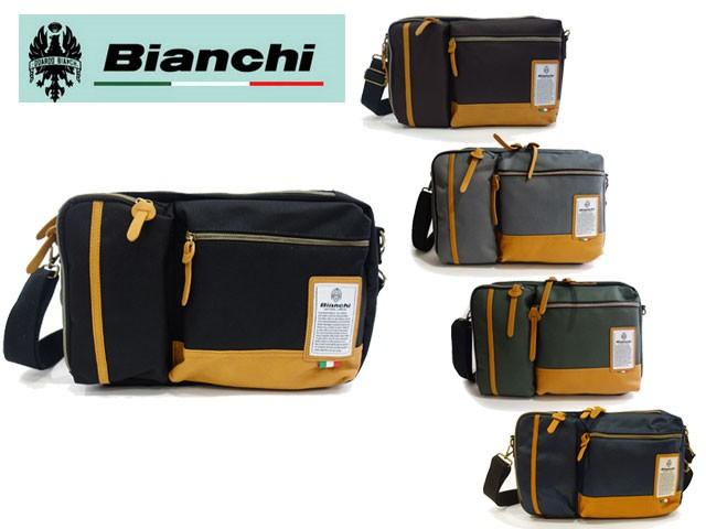 ビアンキ Bianchi ボディバッグ i-pad収納 3WAY仕...