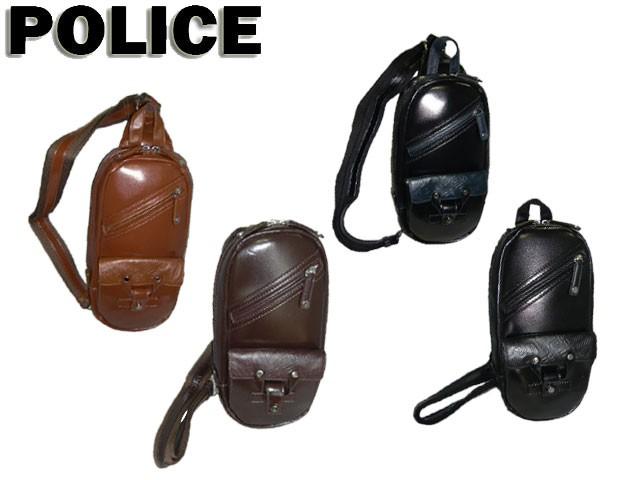 ポリス POLICE DELIGHT2 ボディバッグ 牛革 1025 ...