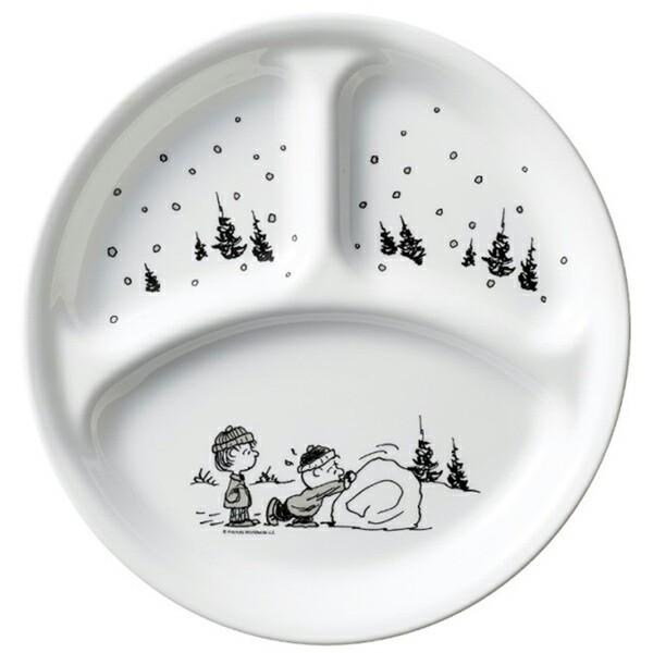 コレール スヌーピーモノトーン ランチ皿(大)J3...