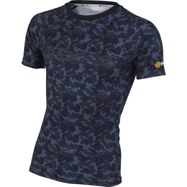 SAS2715X-BLK ソフトコンプレッション 半袖シャツ...
