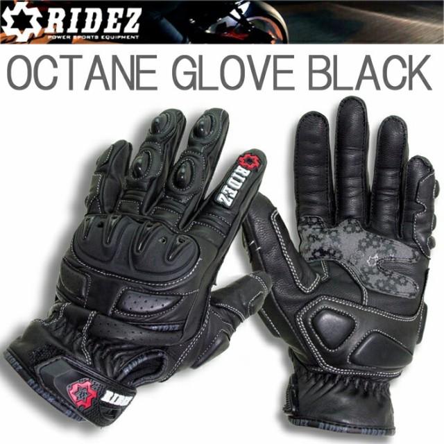 【送料無料】RIDEZ OCTANE GLOVE BLACK オクタン...