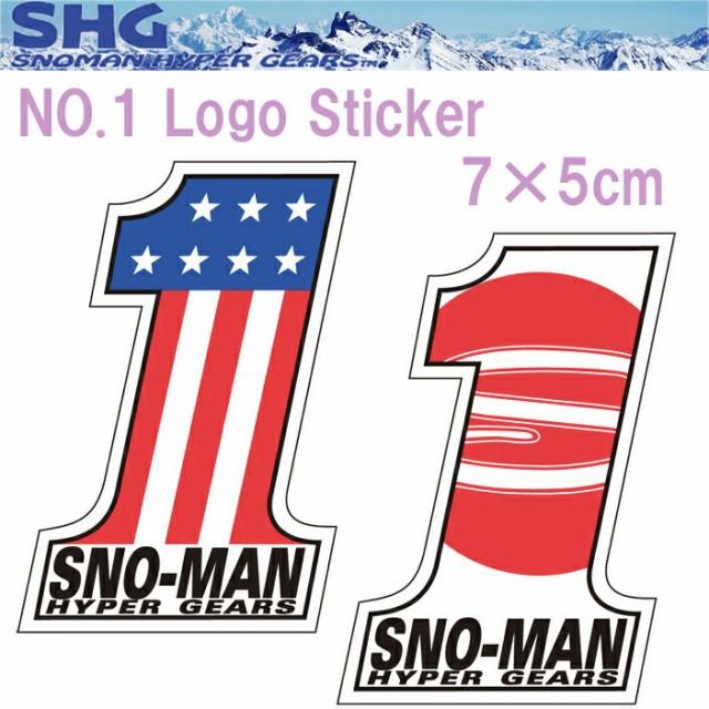【ゆうパケット対応】SNOMAN SHG スノーマン NO.1...