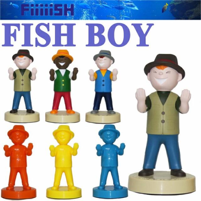 CAPS Fiiiiish FISH BOY スタンド 釣り インテリ...