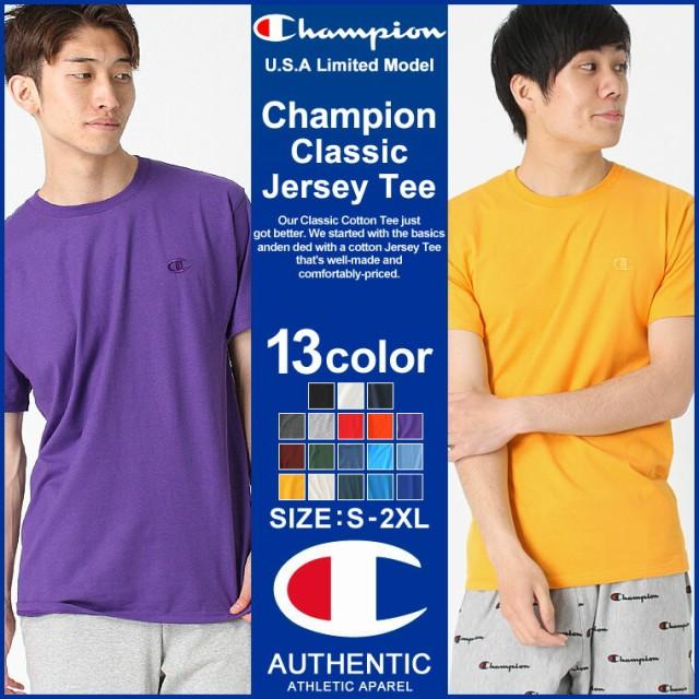 Champion チャンピオン Tシャツ メンズ Tシャツ メンズ 半袖 無地 大きいサイズ メンズ tシャツ 半袖tシャツメンズ
