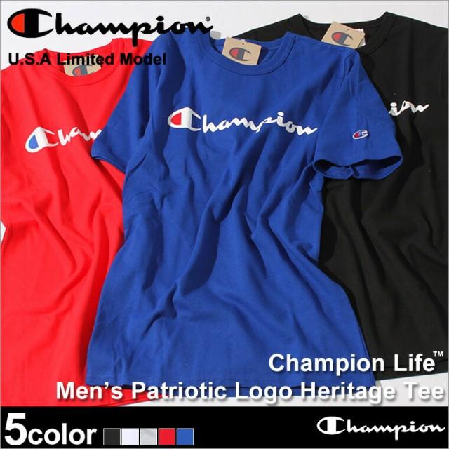 Champion チャンピオン Tシャツ メンズ 半袖 tシ...
