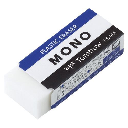 【メール便発送】トンボ鉛筆 消しゴム モノ PE01 ...