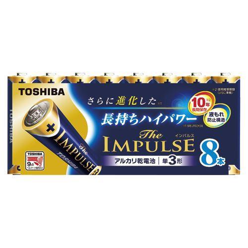 【メール便発送】東芝 アルカリ電池ザ・インパル...