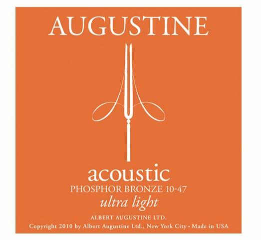 AUGUSTINE/アコースティック弦 ultra light(.010...
