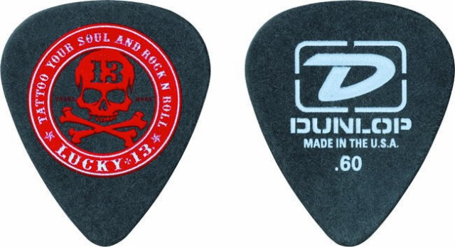 Jim Dunlop/ピック LUCKY-13 ROCKN ROLL【ダンロ...