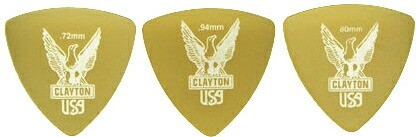 CLAYTON/ULTEM PICKS  トライアングル【クレイト...