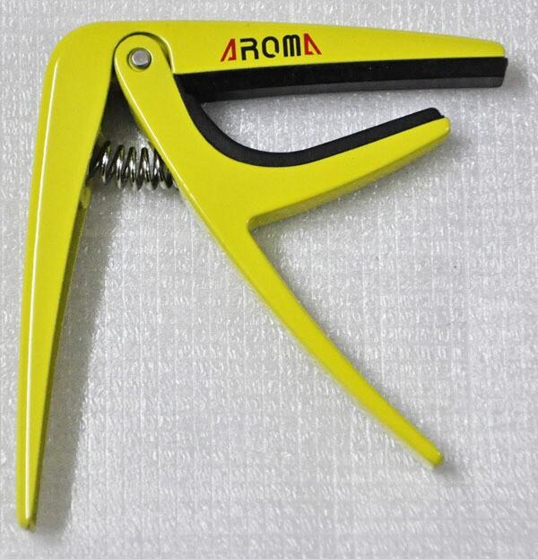 AROMA(アロマ) 「AC-01 YL:イエロー」ギターカポ...