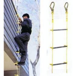 【送料無料】避難用縄はしご2階用【避難・脱出】