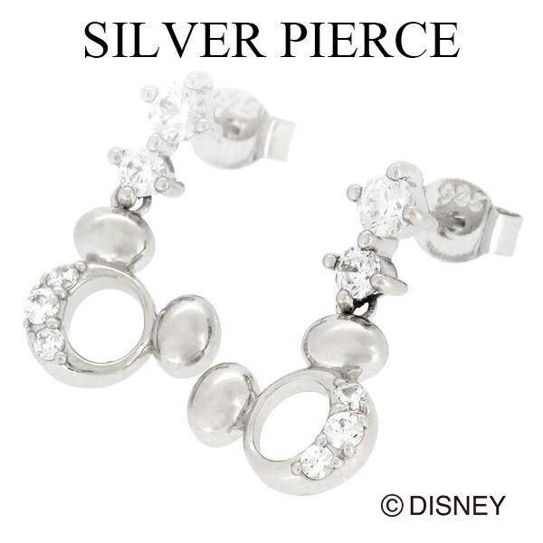 【Disney ディズニー】 ぷっくり ミッキー ジルコ...