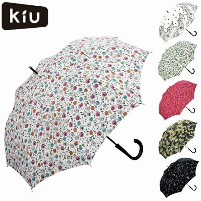 KiU/キウ 雨傘 レディース 長傘 ジャンプ傘 A-JUM...