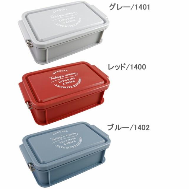 弁当箱 1段 TODAY'S MENU LUNCH BOX ランチボック...