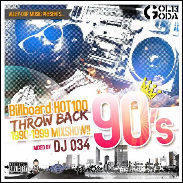 90sHIT曲61曲 DJ034 MIX CD ビルボード HOT100 90...